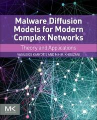 Malware Diffusion Models for Modern Complex Networks 1st Edition 9780128027165 0128027169