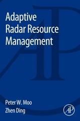 Adaptive Radar Resource Management 1st Edition 9780128029022 0128029021