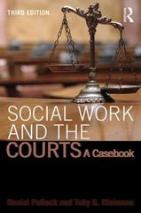 Social Work and the Courts 3rd Edition 9781138799844 113879984X