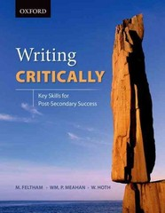 Writing Critically 1st Edition 9780199006809 0199006806