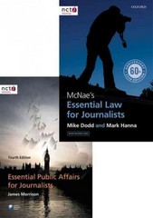 McNae's Essential Law for Journalists and Essential Public Affairs for Journalists Pack 1st Edition 9780198753360 0198753365