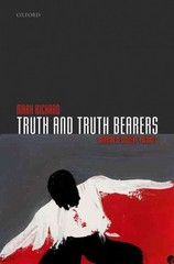 Truth and Truth Bearers 1st Edition 9780191064906 0191064904