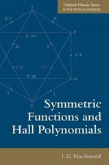 Symmetric Functions and Hall Polynomials 2nd Edition 9780198739128 0198739125