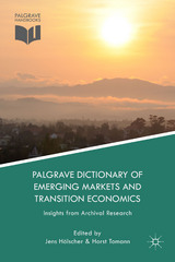 Palgrave Dictionary of Emerging Markets and Transition Economics 1st Edition 9781137371379 1137371374