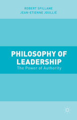 Philosophy of Leadership 1st Edition 9781137499189 1137499184