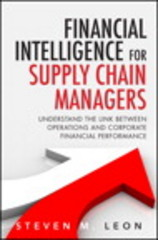 Financial Intelligence for Supply Chain Managers 1st Edition 9780133838718 0133838714