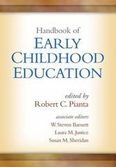 Handbook of Early Childhood Education 1st Edition 9781462523733 1462523730
