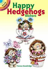 Happy Hedgehogs Stickers 1st Edition 9780486803197 0486803198