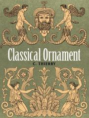 Classical Ornament 1st Edition 9780486799650 0486799654
