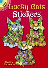 Lucky Cats Stickers 1st Edition 9780486799827 0486799824