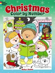 Christmas Color by Number 1st Edition 9780486800516 0486800512