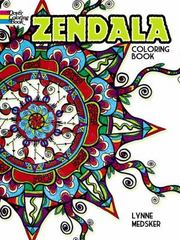 Zendala Coloring Book 1st Edition 9780486802510 0486802515