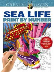 Creative Haven Sea Life Paint by Number 1st Edition 9780486803807 0486803805