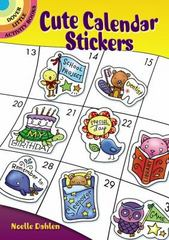Cute Calendar Stickers 1st Edition 9780486796567 0486796566