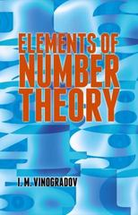 Elements of Number Theory 1st Edition 9780486781655 0486781658