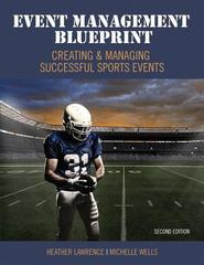 Event Management Blueprint 2nd Edition 9781465278838 1465278834