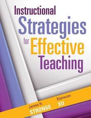 Instructional Strategies for Effective Teaching 1st Edition 9781936763757 1936763753