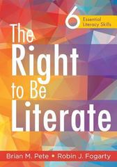 The Right to Be Literate 1st Edition 9781936763795 1936763796