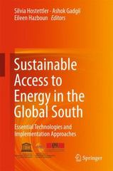 Sustainable Access to Energy in the Global South 1st Edition 9783319202082 3319202081