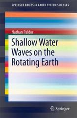 Shallow Water Waves on the Rotating Earth 1st Edition 9783319202617 3319202618