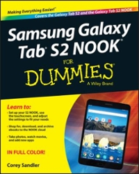 Samsung Galaxy Tab S2 NOOK For Dummies 1st Edition 9781119171119 1119171113