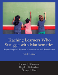 Teaching Learners Who Struggle with Mathematics 3rd Edition 9781478629184 1478629185