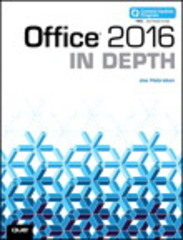 Office 2016 In Depth (includes Content Update Program) 1st Edition 9780789755674 078975567X