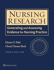 Nursing Research 10th Edition 9781496300232 1496300238