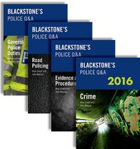 Blackstone's Police Q&A: Four Volume Pack 2016 20th Edition 9780198743330 0198743335