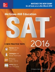 McGraw-Hill Education SAT 2016 Edition 11th Edition 9780071843454 0071843450