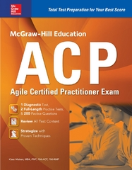 McGraw-Hill Education ACP Agile Certified Practitioner Exam 1st Edition 9780071847674 0071847677