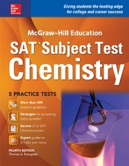 McGraw-Hill Education SAT Subject Test Chemistry 4th Ed. 4th Edition 9781259584121 1259584127