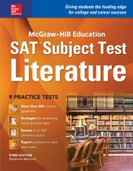 McGraw-Hill Education SAT Subject Test Literature 3rd Ed. 3rd Edition 9781259586873 1259586871
