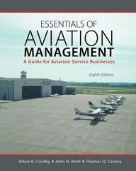 Essentials of Aviation Management 8th Edition 9781465279378 1465279377