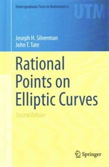 Rational Points on Elliptic Curves 2nd Edition 9783319185880 3319185888