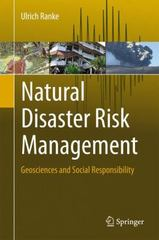Natural Disaster Risk Management 1st Edition 9783319206745 3319206745
