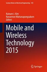 Mobile and Wireless Technology 2015 1st Edition 9783662476680 3662476681