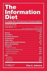 The Information Diet 1st Edition 9781491933398 1491933399