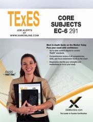 TExES Core Subjects EC-6 291 1st Edition 9781607874881 1607874881