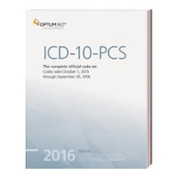 ICD-10-PCs Expert 2016 (Softbound) 1st Edition 9781622540204 1622540204