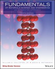 Fundamentals of Materials Science and Engineering, Binder Ready Version 5th Edition 9781119175483 1119175488