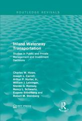 Inland Waterway Transportation 1st Edition 9781317355281 1317355288