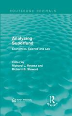 Analyzing Superfund 1st Edition 9781317354802 131735480X