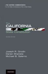 The California State Constitution 2nd Edition 9780199988655 019998865X