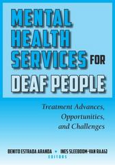 Mental Health Services for Deaf People 1st Edition 9781563686542 1563686546