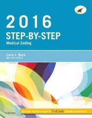 Step-by-Step Medical Coding, 2016 Edition 1st Edition 9780323389198 0323389198