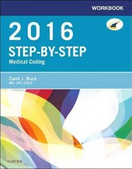 Workbook for Step-by-Step Medical Coding, 2016 Edition 1st Edition 9780323389211 032338921X
