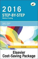 Step-by-Step Medical Coding 2016 Edition - Text and Workbook Package 1st Edition 9780323393829 0323393829