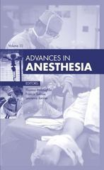 Advances in Anesthesia 1st Edition 9780323356053 0323356052