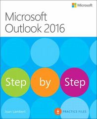 Microsoft Outlook 2016 Step by Step 1st Edition 9780735699472 073569947X